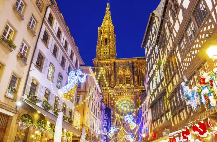 Advent v Německu a Francii: Amberg, Norimberk, Štrasburk (fotografie 1)