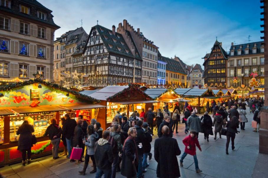 Advent v Německu a Francii: Amberg, Norimberk, Štrasburk (fotografie 18)