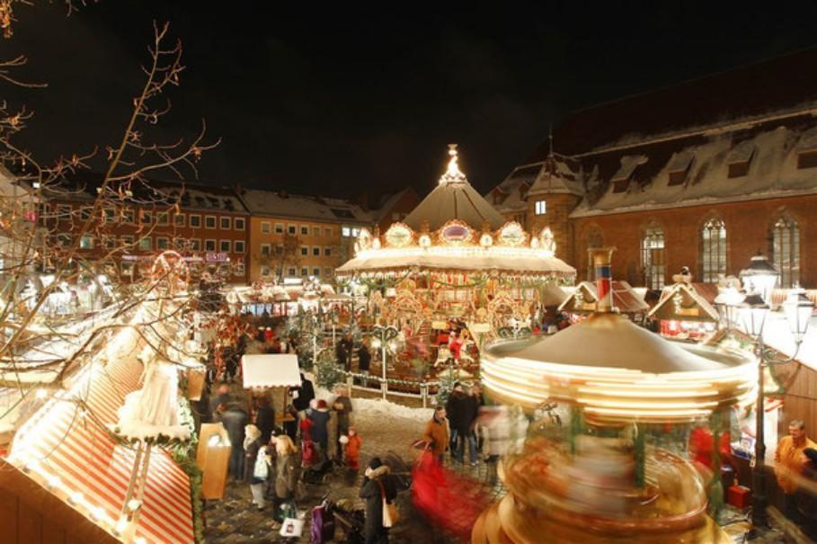 Advent v Německu a Francii: Amberg, Norimberk, Štrasburk (fotografie 20)