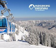 Jednodenní lyžování ve středisku Kasberg