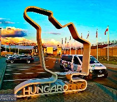 Formule 1 - velká cena Maďarska 2021 nocleh