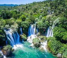 Bosna a Hercegovina + Sarajevo + koupání u vodopádů Kravica