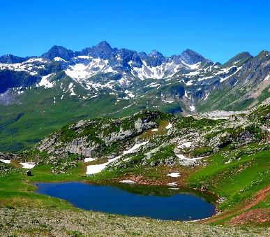 Malebné Lechtalské Alpy