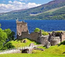Skotsko – highlands s turistikou