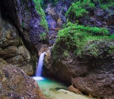 Den v národním parku Berchtesgaden