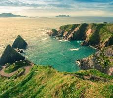 Národní parky jižního Irska + plavba ke Skellig Islands + Dingle