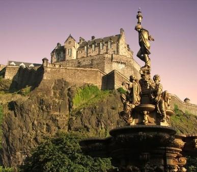 Anglie, Skotsko, Wales - Letecky