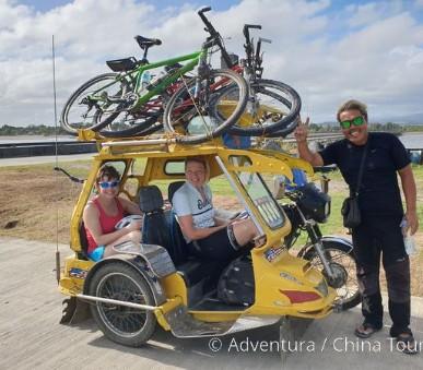 Filipíny na kole