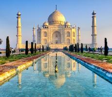 Tádž Mahal, bengálští tygři a relax v Goa