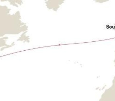 Queen Mary 2 - transatlantická plavba do New Yorku 1 (ze Southamptonu)