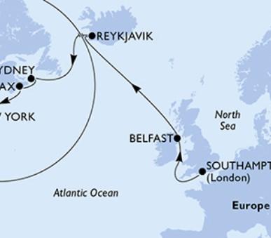MSC Meraviglia - Velká Británie, Island, Kanada, USA (hlavní fotografie)
