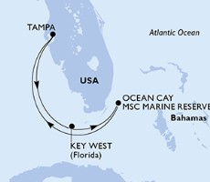 Msc Armonia - Usa, Bahamy (z Tampy)