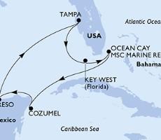 Msc Armonia - Usa, Bahamy, Mexiko (z Tampy)