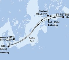Msc Meraviglia - Dánsko, Finsko, Rusko, Estonsko, Německo (Kodaň)