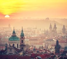 Praha stověžatá a střední Čechy