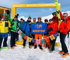 Gruzie – skialpinismus na Kavkaze ve Svanetii 2022