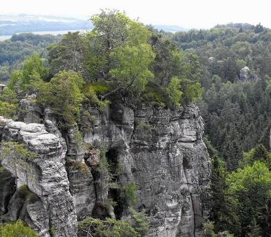 Skalní města východních Čech a jižního Polska
