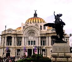 Mexico City a Yucatán