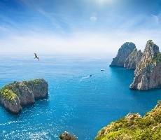 Jižní Itálie dd Říma po Capri s výstupem na Vesuv