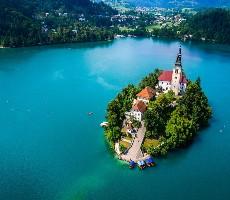 Pestré barvy Slovinska, okolí Triglavu a Bledu