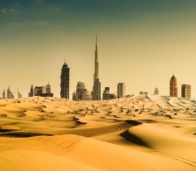 Za koupáním a poznáváním Arabských Emirátů