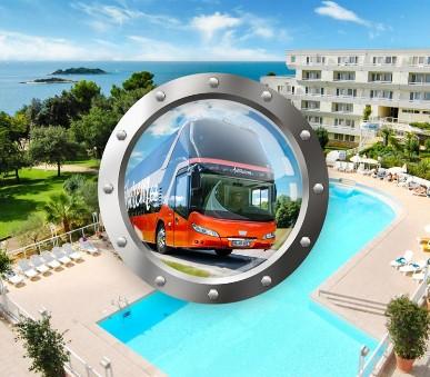 Zkrácená dovolená na Istrii v hotelu s bazénem a dopravou v ceně (hlavní fotografie)