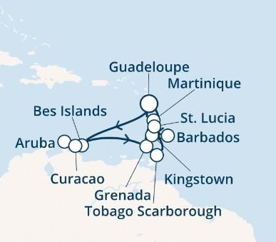Costa Favolosa - Antily, Trinidad a Tobago (Pointe-a-Pitre)