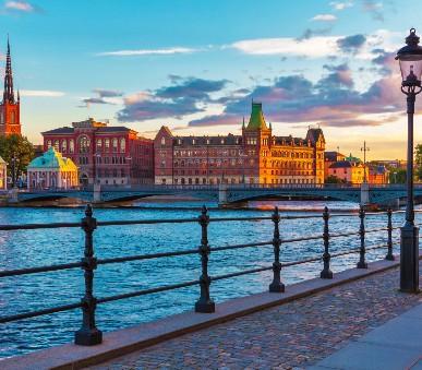 Starobylé metropole Skandinávie
