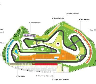 Vstupenky na F1 - velká cena Portugalska 2020 hlavní závod