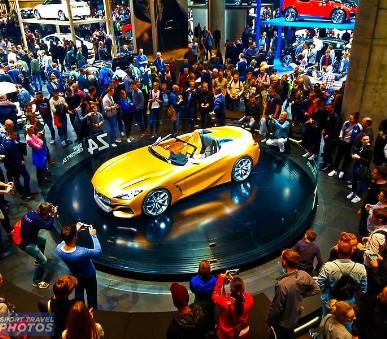 Autosalon Mnichov 2021 - sobota