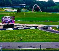 Formule 1 - velká vena Rakouska 2021 hlavní závod Ostrava