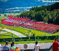 Vstupenky na F1 - velká cena Rakouska 2021