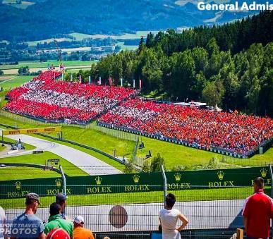 Vstupenky na F1 - velká cena Rakouska 2022