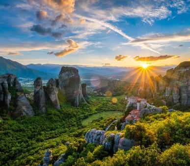 Řecko a Makedonie s návštěvou klášterů Meteora
