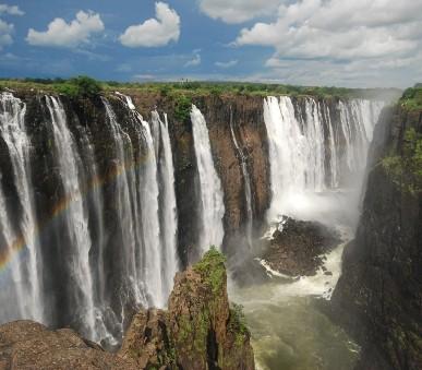 Viktoriiny vodopády a diamanty Jižní Afriky