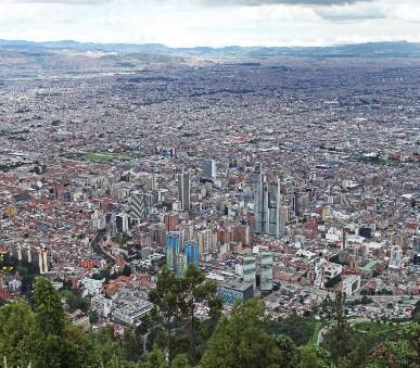 Tajemná centrální Kolumbie