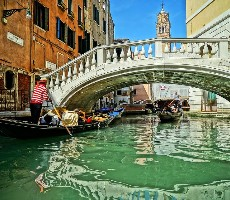 Benátky a ostrovy v Benátské laguně