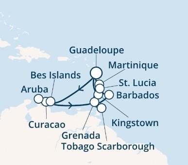 Costa Fascinosa - Antily, Trinidad a Tobago (Pointe-a-Pitre)