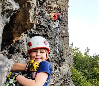 Ferraty s dětmi - Saské Švýcarsko a Lužické hory
