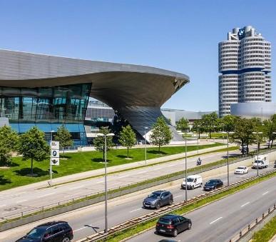 Mnichov a muzeum BMW