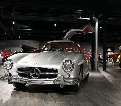 Stuttgart a muzeum Mercedes–Benz