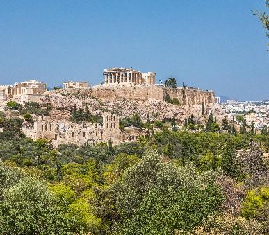 Atény letecky