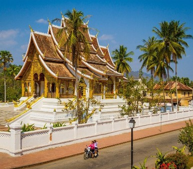 Laos a Kambodža s koupáním