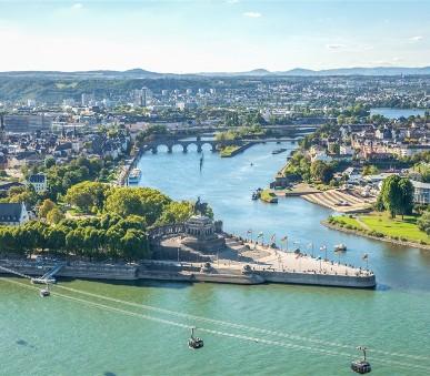 Romantickým údolím Rýna s návštěvou Luxemburku