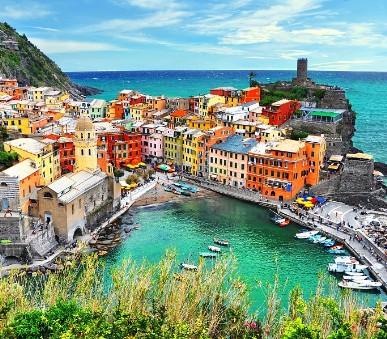 To nejlepší z Florencie + středověká Siena + národní park Cinque Terre