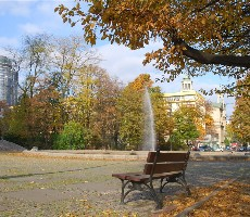 Varšava, metropole v zeleni vlakem nejen po stopách F. Chopina