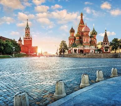Moskva - víkendy